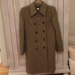 J. Crew tweed coat